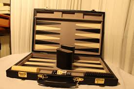 roland meier roland meier ag backgammon set 1 leather like