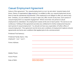 Free Employment Contract Templates Employees Contract Templates 26 Free Templates Official Tips