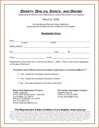Walk A Thon Form 5k Registration Form Template Forms 6143 Resume Examples