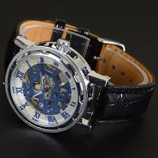 mechanical mens skeleton transparent watches mechanical leather mechanical mens skeleton transparent watches mechanical leather sport