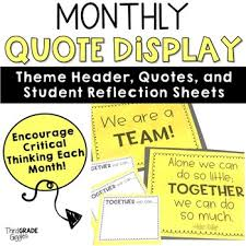 Student Of The Month Quotes Inspirational Quotes Printables And Reflections By Think