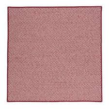 sa sangria 10 ft x 10 ft indoor outdoor braided area rug