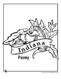 Small Picture State Flower Coloring Pages Ohio State Flower Coloring Page
