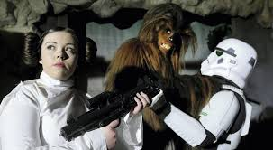 Lightsabers on, as Star Wars fans invade RDS - Independent.ie