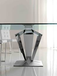 Furniture: Dining Table Bases New Glass Dining Room Table Bases Modern  Decorative Top With 10