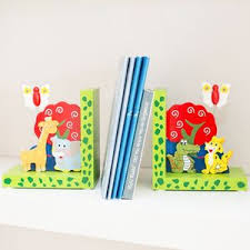 children s personalised wooden bookends baby s room