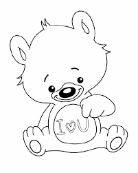 Small Picture Printable Coloring Pages I Love You Coloring Pages
