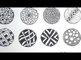 Zentangle Patterns Step By Step Inspiration 48 Easy DoodleZentangle Patterns for Beginners step by step YouTube