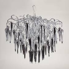 Sluce Thorn Xl Kronleuchter ø 70cm Mit Glaskristallen Chrom