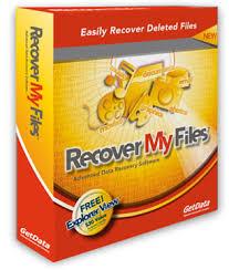 تحميل برنامج استرجاع الملفات المحذوفة 2012 Download Recover My Files free- مجانا