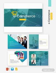 E Commerce Pitch Deck Template Powerpoint Google Slides