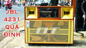 Loa kéo bass đôi ] JBL 4231 - Loa karaoke di động 4 tấc đôi công suất lớn
