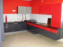 eye catching average kitchen size. Bright Red Laminated Modular Kitchen Display At IKI Bangalore - Attractive And Eye-catching Eye Catching Average Size