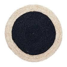 circular jute rug round black handwoven jute rug circular jute rugs uk
