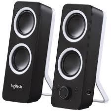speakers for computer. logitech multimedia speakers black z200 for computer p
