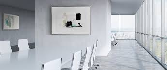 wall art for office. Framed Abstract Art Prints In A Business Office. Office Décor For Your Place Of Wall