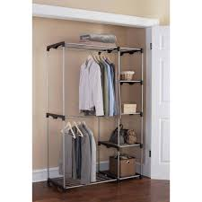 Closetmaid 53w Closet System Walmart And Also Lovely Walmart Clothes Hanger  Rack (View 3 of