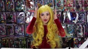 you monster high clawdia wolf doll makeup tutorial for or cosplay kittiesmama video dailymotion