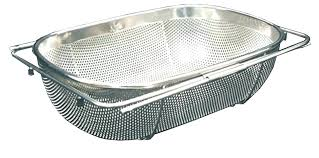 sink basket strainers sink basket strainer inch stainless steel