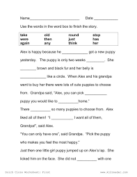 Beautiful Reading Worksheets Images About Cloze Free Worksheet ...