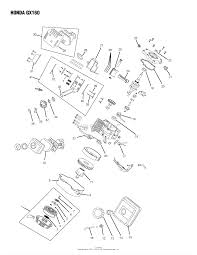 Oregon honda parts diagram for honda gx160 rh jackssmallengines honda gx160 carb diagram honda small