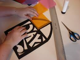 make a stained glass window young