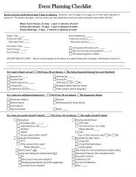 Banquet Checklist Template Awesome Special Event Planning Event Planning Checklist Template