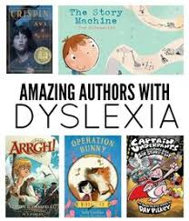 authors with dyslexia kids with lds need to see that they can do anything even something that relies on things they struggle with