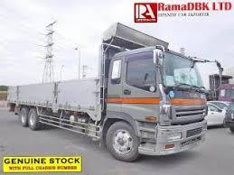 Japan Used Isuzu Giga Pj Cyl51v5a Flatbody Truck 2004 For