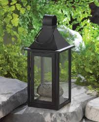Carriage House Lighting Wholesale Classic Black Iron Carriage Candle Lantern 12 Inches