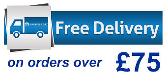 free delivery on orders over 75 slider