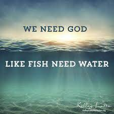 """""""we need not join the mad rush to purchase an earthly fallout shelter. We Need God Like Fish Need Water Inspirational Thoughts Spiritual Awakening Inspirational Quotes"""