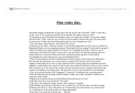 describe rainy day essay description of a rainy day essay respire