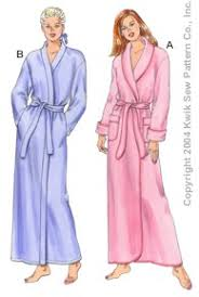 Robe Sewing Pattern Impressive Kwik Sew 48 Misses Robes