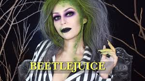 beetlejuice makeup tutorial l beetlejuice version l cflowermakeup