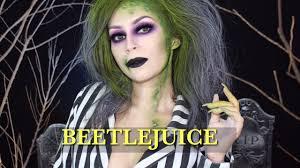 beetlejuice makeup tutorial l beetlejuice version l cflowermakeup
