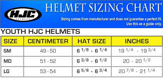 Hjc Cl Y Simitic Youth Size Full Face Motorcycle Helmet