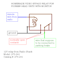double din aftermarket stereo com here is how i wired the relay