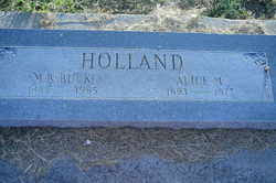 Alice Myrtle Rayburn Holland (1893-1977) - Find A Grave Memorial