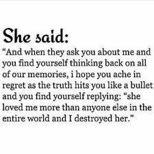 You Didn T Love Her Quotes Gorgeous Quote I Fucking Pray It Hits Hard But You Didn't Destroy