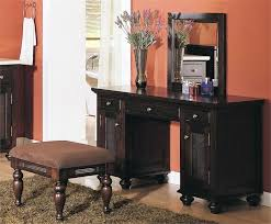 Good Latest Espresso Vanity Table With Various Design Ideas Of Makeup Vanity  Table Home Furniture And Decor