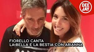 Fiorello canta la bella e la bestia con Arianna Bergamaschi