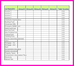 Personal Weekly Budget Templates Free Printable Budget Template Monthly Ddaconline Co