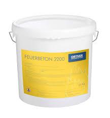 Feuerbeton 2200 0 05mm 20 Kg Eimer