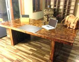 custom office desk. Office Table Furniture Reclaimed Desk Creative Wood Custom