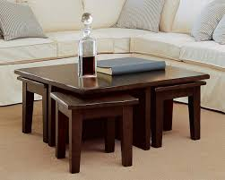 coffee table with stools pertaining to cocktail designs 6