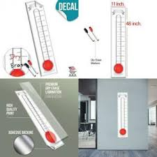 Details About Fundraising Thermometer Goal Setting Chart Dry Erase Reusable Fundraiser