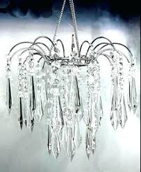 chandelier plastic crystal acrylic droplet lamp shade ceiling pendant 2 whole cake stands with hanging crystals