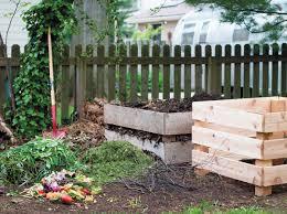 chef joshua wickham s backyard compost and compost bins