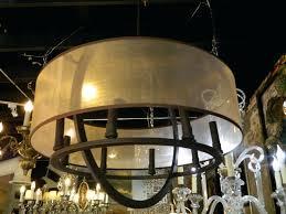 full size of black drum shade crystal chandelier pendant light 8 bronze finish with barrel restoration